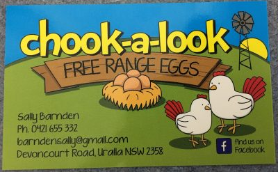 Chook-A-Look Free Range Eggs banner image